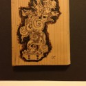 Mayan Woodburning